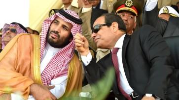 EGYPT-MILITARY-SAUDI-SISI